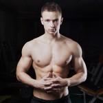 portret sportowca siłownia