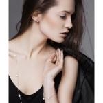 sesja studyjna reklamowa biżuterii fotografia reklamowa katowice łopacka jurczyk
